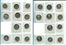 USSR AND RUSSIA PROOF ROUBLES 11 COINS SET 1990-IES ORIGINAL PACKAGING FDC!