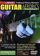 Lick Library GUITAR AEROBICS Fretboard Fitness Intermediate Workout Video DVD