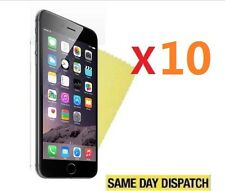 """10 X Ultra Clear Screen Protectors Cover Film for Apple iPhone 6 Plus 5.5"""" Cloth"""