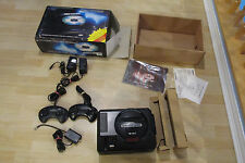 COMPLETE WORKING SEGA CD MODEL 1 VIDEO GAME SYSTEM W/ORIGINAL BOX GAMES GENESIS
