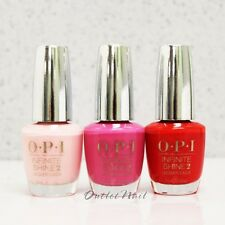 OPI Infinite Shine Set: CHOOSE 3 Colors 15mL/ 0.5 oz Kit Nail Lacquer