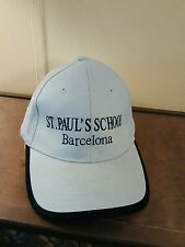 St. Paul's School Barcelona Spain Cap Baseball Trucker 58CM Adjustable