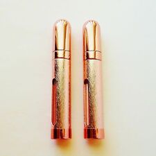 2 Refillable Perfume Atomizer Mini Spray Empty Fancy Bottle 12 ml Vial Pink