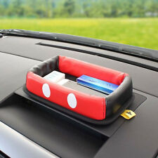 New Disney Mickey Mouse Car Dashboard Storage Box Tray Car Accessories