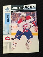 2011-12 Sp Authentic Rookies Raphael Diaz /699