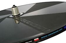 DISC WHEEL CARBON TRIATHLON TIME TRIAL TT ROAD 9/10/11s 1220g AERON BLACK RONx