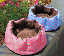 Pet Dog Puppy Cat Kitten Plush Fleece Bed Soft Cushion Nest Pad House Mat