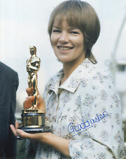 Glenda Jackson ' English Actress - A Woman in Love ' Hand Signed Photograph.