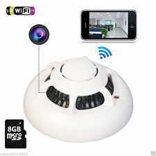 SPY Smoke Detector WiFi camera Wireless IP Camera Hidden Nanny Cam Video P2P