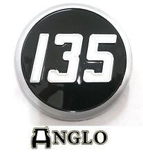 Massey Ferguson 135 Tractor Bonnet Badge Emblem Medallion Fergie Restoration