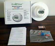 DIGITAL ROUND THERMOSTAT COOLING / ELECTRIC & GAS HEATING / HEAT PUMP