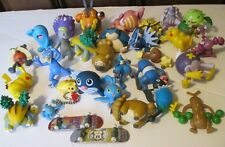 POKEMON big lot of 31 PVC Figures & mini skateboard toys