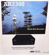 Original Color 4 Sided Color Brochure for the AOR AR2300 BLACK BOX Receiver
