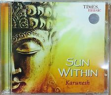 KARUNESH : SUN WITHIN - 2016 BRAND NEW ALBUM BY KARUNESH AUDIO CD / 890263324640