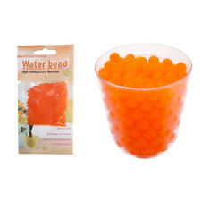10G ORANGE MAGIC CRYSTAL SOIL GEL WATER BEADS WEDDING VASE PLANT CENTERPIECE