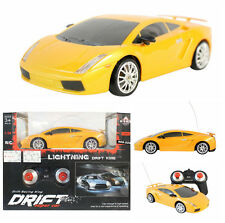 RC DRIFT SPORT RACING CAR 1:24 SCALE VEHICLE TOY REMOTE CONTROL LIGHTS GREAT TOY