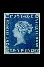 Framed Print - Mauritius Two Pence Post Office Stamp 1847 Valued at $1,670,000