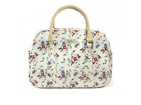 NEW SUMMER DAISY VINTAGE STYLE CREAM WOMENS ZIPPED HAND BAG BNWT