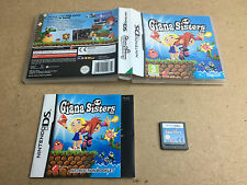 Giana Sisters - Nintendo DS (TESTED/WORKING) UK PAL