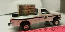 1/64 CUSTOM Ford f350 asgrow TRUCK WITH pallet of soybean seed bags ERTL dcp