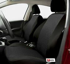 Universal Seat covers full set fits  Toyota Corolla black/grey