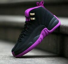 NIKE AIR JORDAN 12 RETRO GG HYPER VIOLET SIZE US 5Y NEW 510815-018