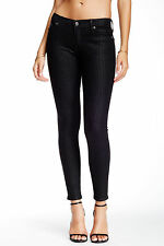 NWT TRUE RELIGION JEANS $238 HALLE SKINNY PANTS IN ONYX HOUNDSTOOTH SZ 27
