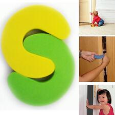 2 Pcs Foam Child Safety Door Stopper Pad Baby Finger Protection Door Jam Guards