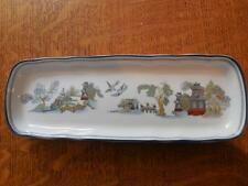 Wedgwood Chinese Legend bone china pen tray - EXCELLENT!!