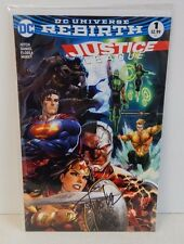 DC Universe Rebirth Justice League #1 Dynamic Forces Variant Signed by Kirkham
