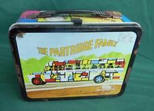 VINTAGE 1971 THERMOS PARTRIDGE FAMILY METAL LUNCHBOX EMBOSSED LUNCH BOX ORIGINAL