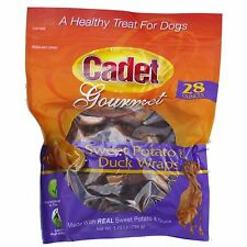 Cadet 28oz Gourmet Sweet Potato & Duck Wraps #07204 Chews Natural Dog Treats