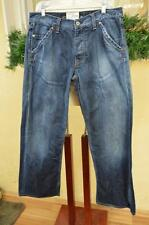 Energie Keyport Jean' Session Distressed & Worn Out Jeans 35X31 Comfy Soft  Fun