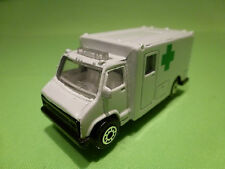 EDOCAR 39 TRUCK - AMBULANCE GREEN CROSS - 1:70? -  VERY GOOD