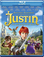 Justin and the Knights of Valor (Blu-ray Disc, 2014) NEW