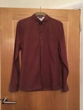River Iskand Button Collared Long Sleeve Shirt Size M