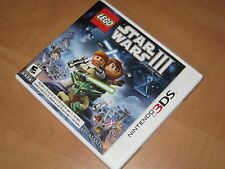 LEGO Star Wars III The Clone Wars Nintendo 3DS Game - Works Perfectly Three 3