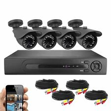 Best Vision Systems 8 CH HD 1080N DVR 4x 720P IR Bullet cameras with 1TB HDD