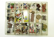 Landschaftsbau-Set Konvolut ca. 200 Teile Figuren Tiere Deko Maßstab H0 1:87