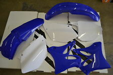 RACE TECH BLUE REPLICA PLASTIC KIT YAMAHA YZ250 YZ125 2002-2005  SCOOPS FENDERS