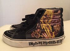 Vans Iron Maiden Killers Skate Sk8 Hi Shoes Women's Sz 6 Men's Sz 4.5