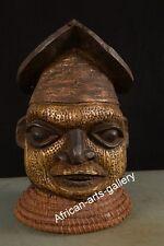 475 Helmmaske der Grassland Bamun Kamerun / Cameroon Afrika