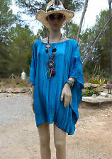 ⊱✿ Ibiza Fashion ✿⊰ Tunika Lagenlook Poncho ♥ Hippie EG 44 46 48 50 52