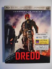 Dredd (Blu-ray Disc, 2013, Includes Digital Copy; 3D) W/Slipcover