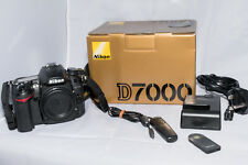 Nikon D7000 16.2MP Digital SLR Camera - Black (Body Only) boxed