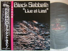 BLACK SABBATH LIVE AT LAST / WITH OBI