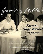 Family Table: Favorite Staff Meals from Our Restaurants to Your Home-ExLibrary