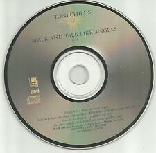 TONI CHILDS Walk and talk like angels 1988 PROMO Radio DJ CD single MINT USA