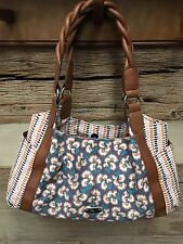 RELIC Heidi Collection Double Shoulder Bag PALM SPRINGS FLORAL  New!