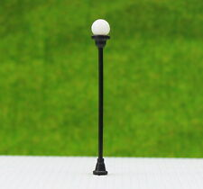 LNH31 20pcs Model Railway Lamppost lamps Street Lights HO OO TT Scale LEDs NEW